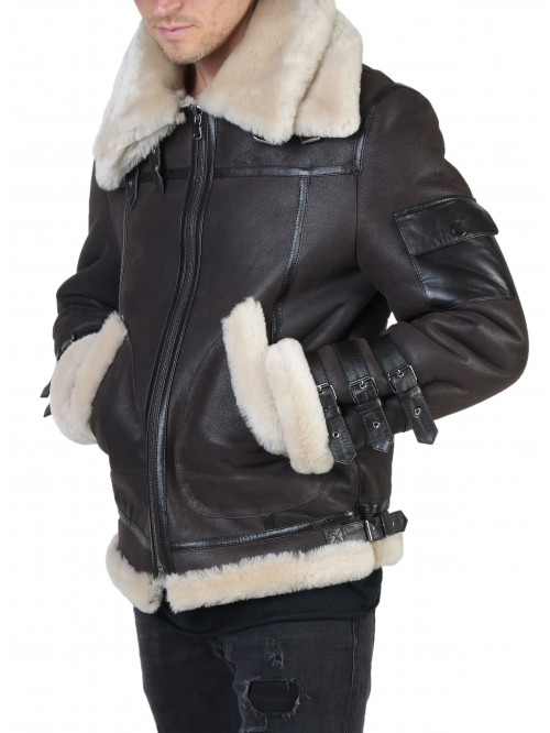 E-226 Brown Shearling