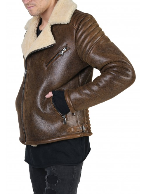 E-117 Brown Shearling